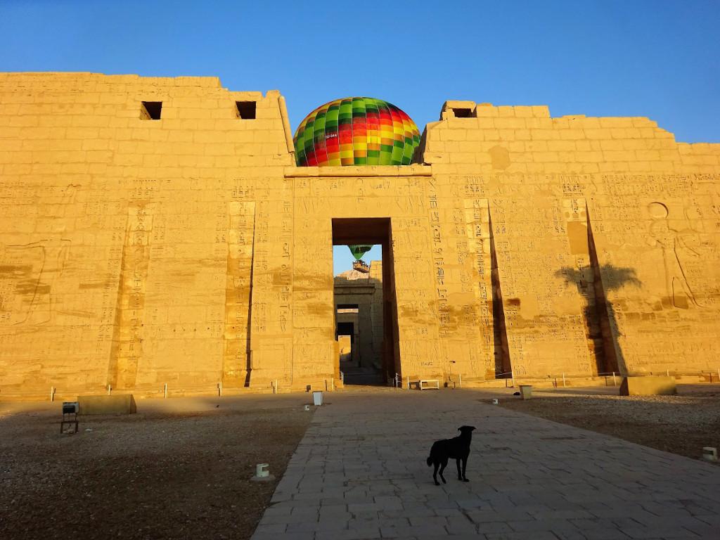 Templo de Ramsés III, El Cairo, Egipto