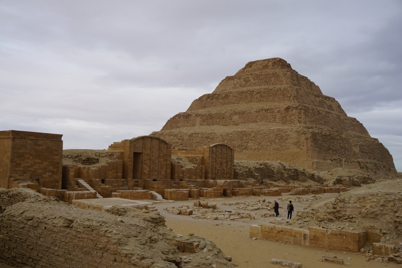 Pirámide Escalonada, Egipto
