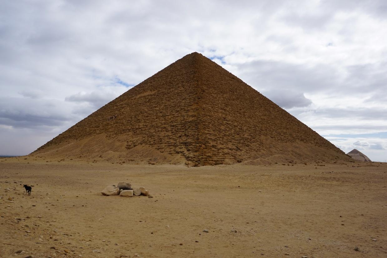 Pirámide Roja, Egipto