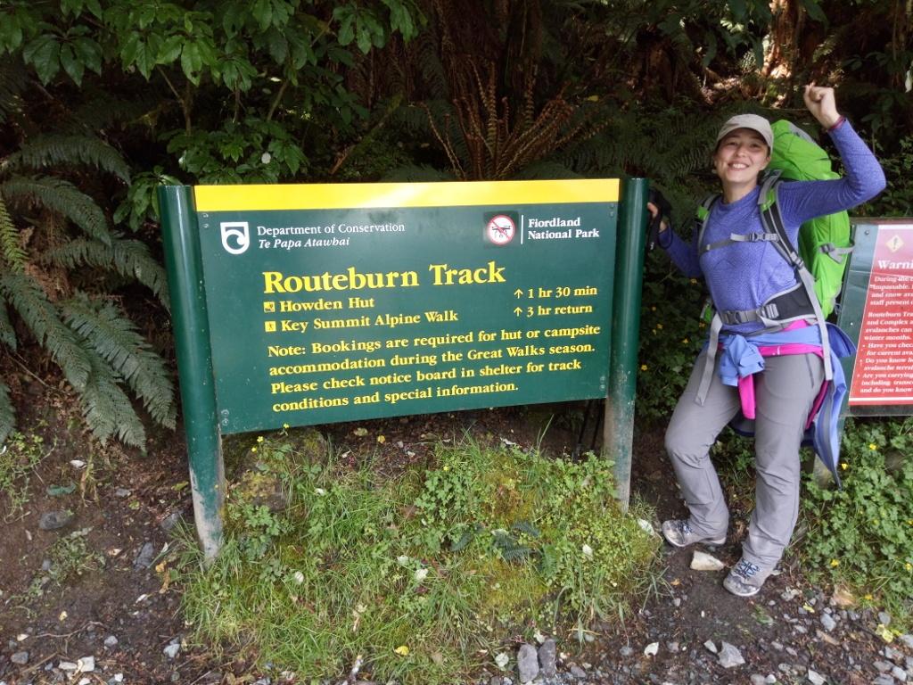 Final del Routeburn Track