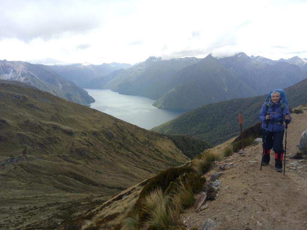 Fiordo del lago Te Anau, Kepler Track