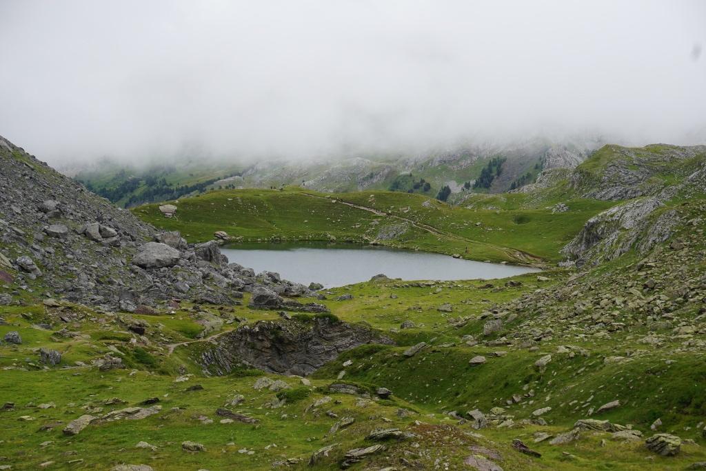 Lac Castérau, Tour Lacs de Ayous