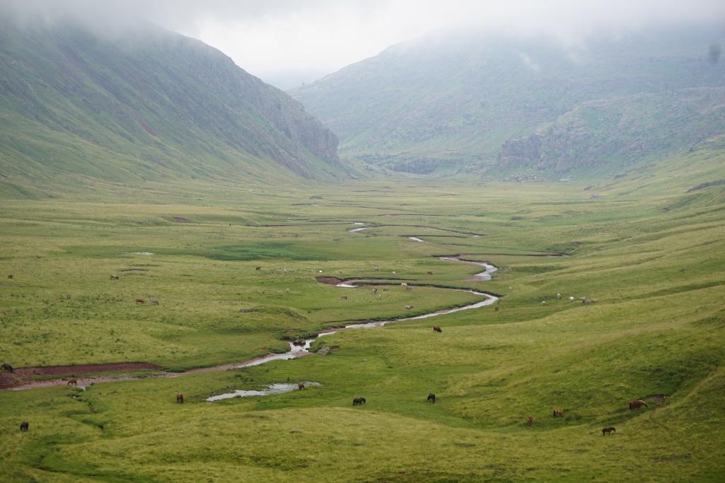 Vistas del Valle de Aguas Tuertas