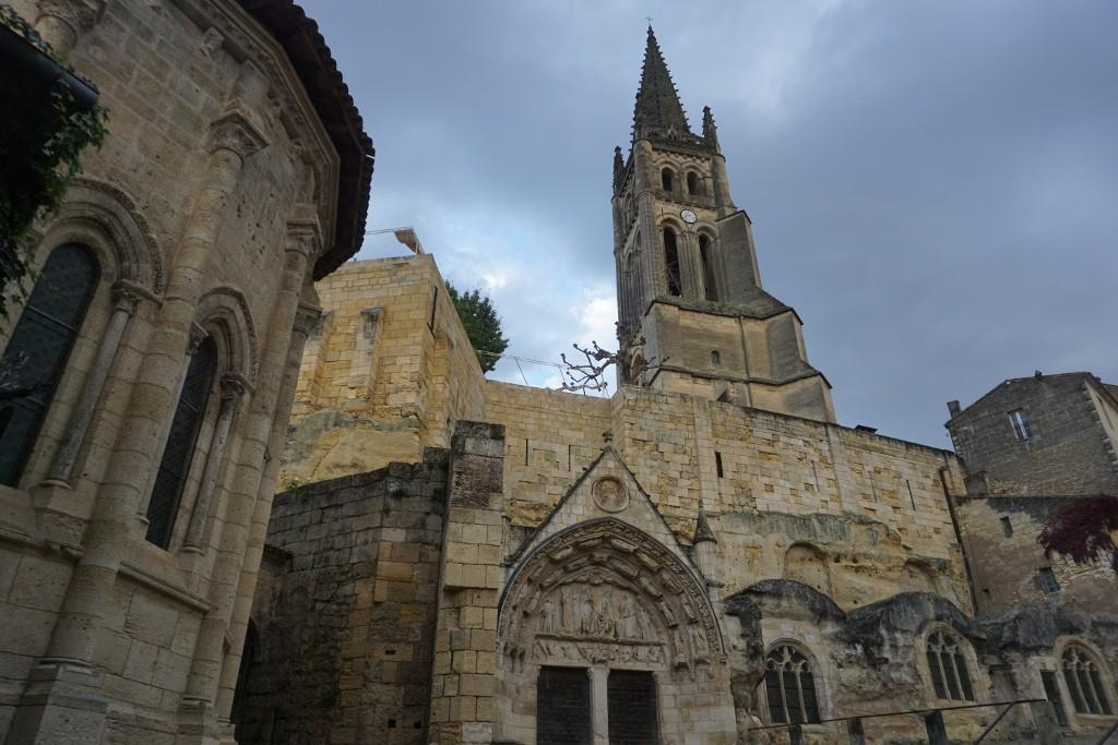 Saint-Émilion, Valle del Dordoña. Francia.