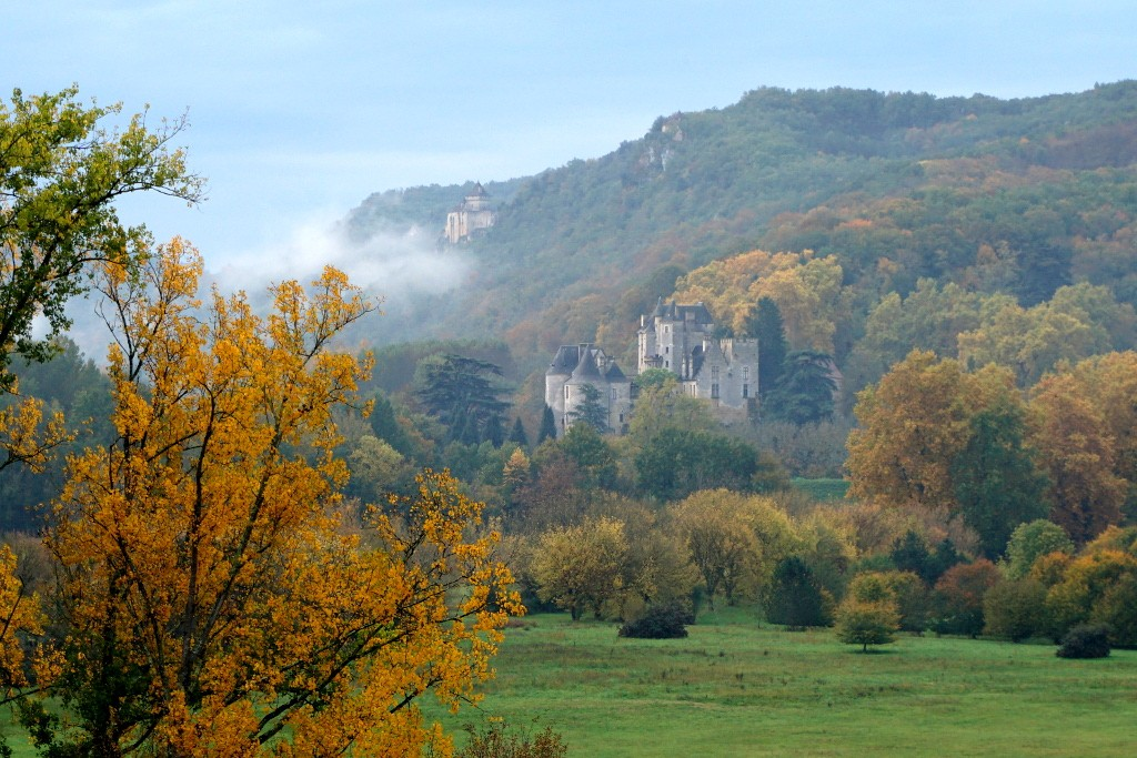 Valle del Dordoña, Francia.