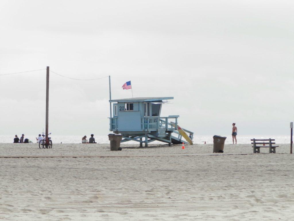 Playa de Santa Mónica, Los Ángeles