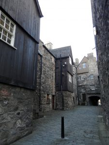 Escocia Bakehouse Close Edinburgh