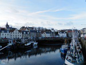 Escocia Puerto de Pittenweem