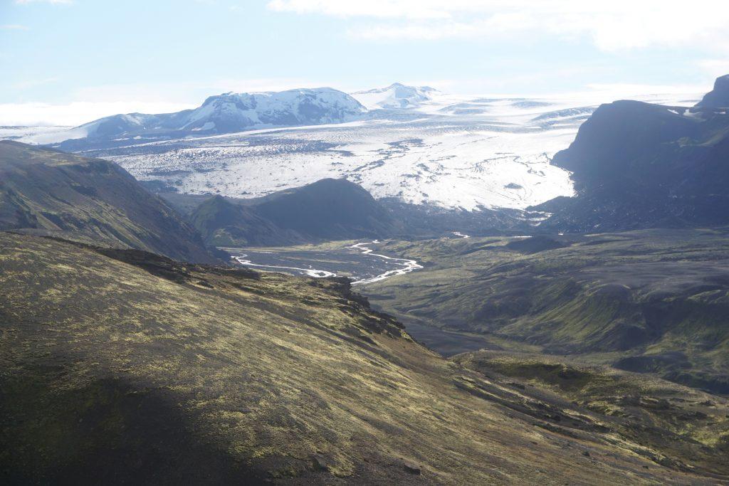 Glaciar de Mýrdalsjökull