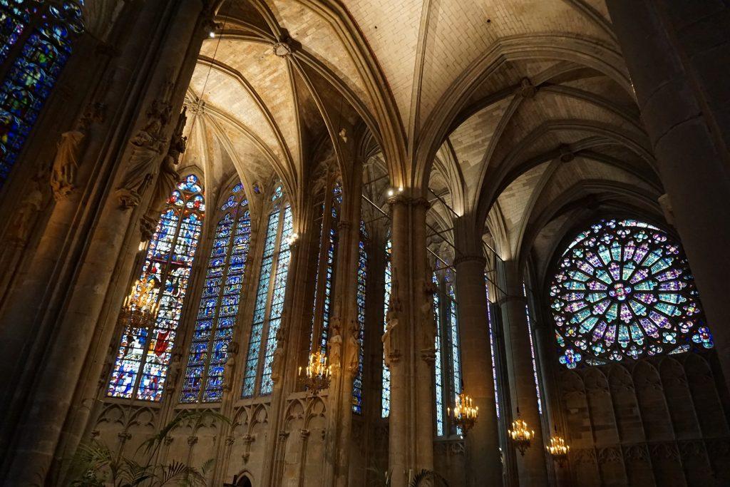 la Basílica de St. Nazarie, Carcassonne