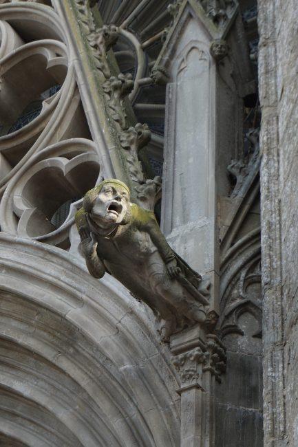 Gárgola de la Basílica de St. Nazarie, Carcassonne