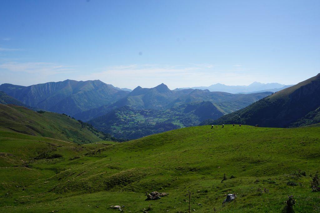 Caballos salvajes desde el Col d'Aubisque