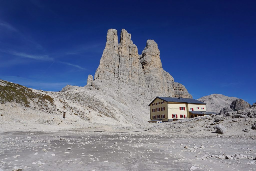 Trekking Vajolet Tower, Dolomitas