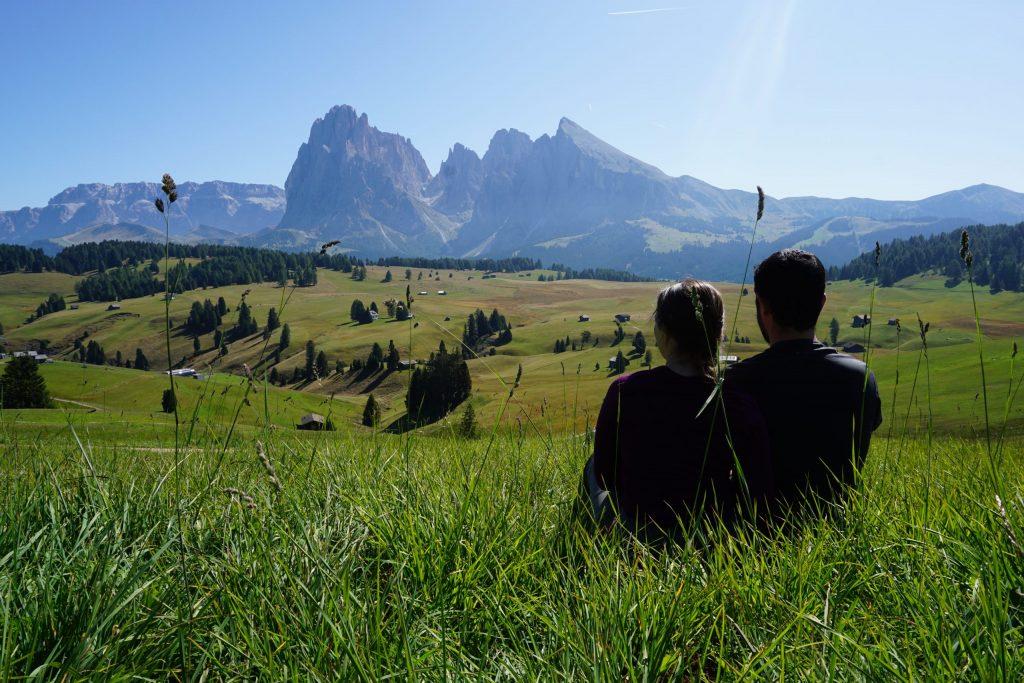 Románticamente en Alpe di Siusi