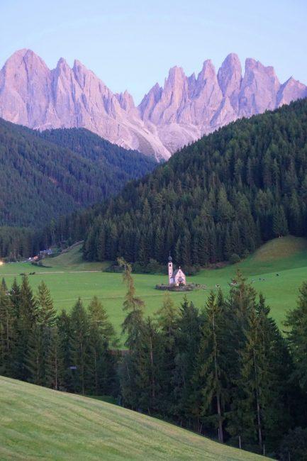 Iglesia San Giovanni in Ranui, Dolomitas