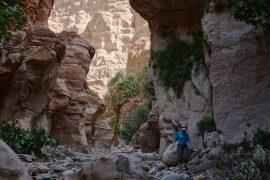Wadi Ghuweir, el mejor trekking de Jordania