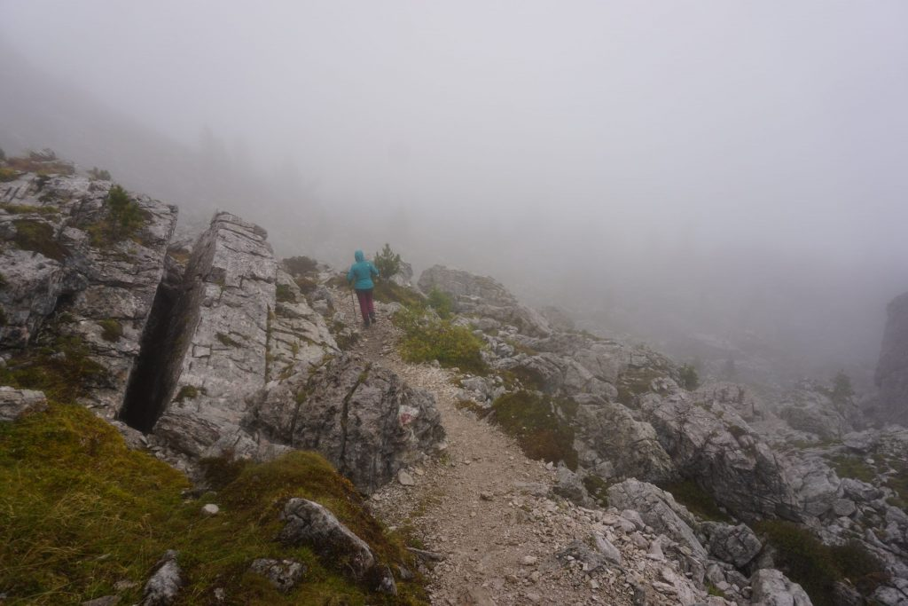 Trekking Rifugio Nuvolau, Dolomitas