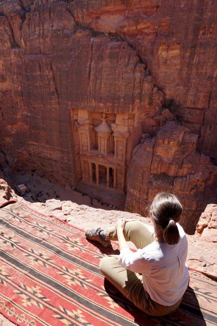 El mejor mirador de Petra