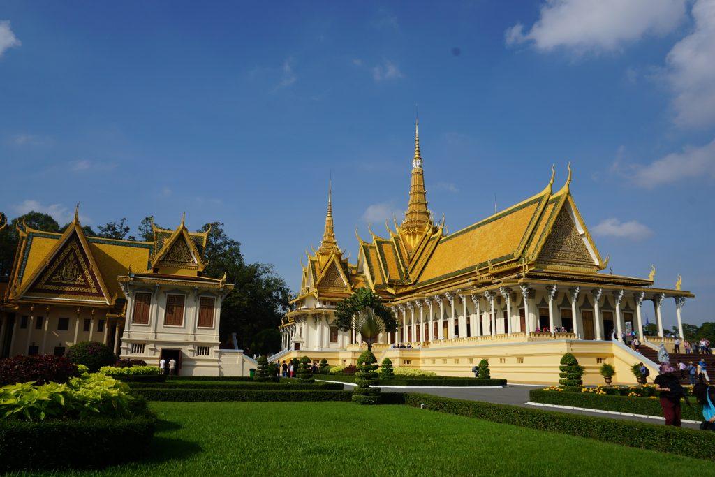 Palacio Real de Phnom Penh, Camboya