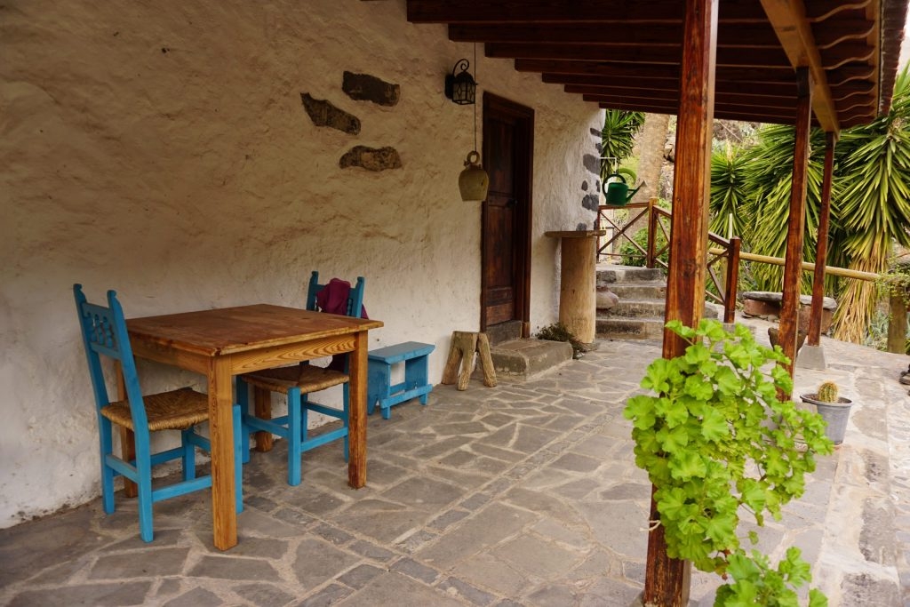 El Rumbazo, Sendero de los barrancos de Guarimiar y Benchijigua