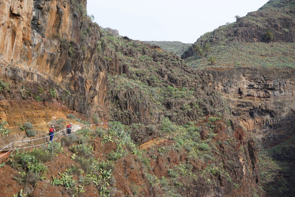 Barrancos de Guarimiar y Benchijigua, los mejores senderos de La Gomera
