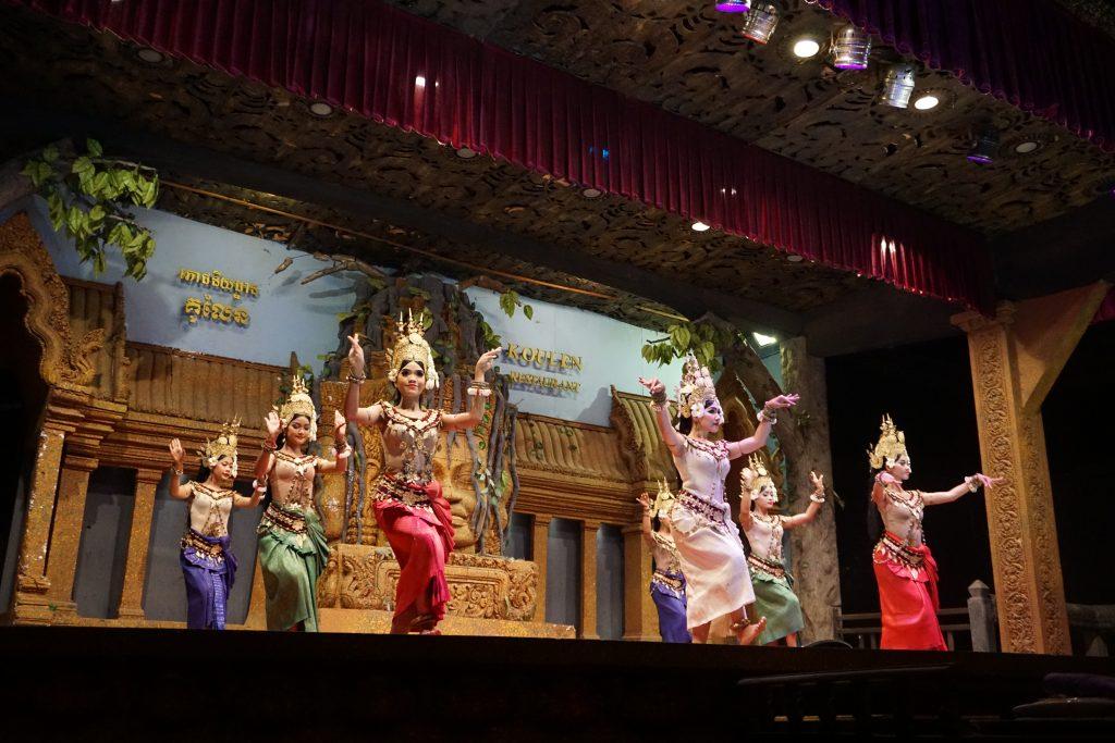 Espectáculo de danza apsara, Camboya