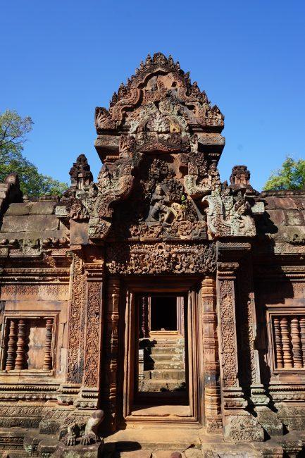 Puerta Banteai Srei