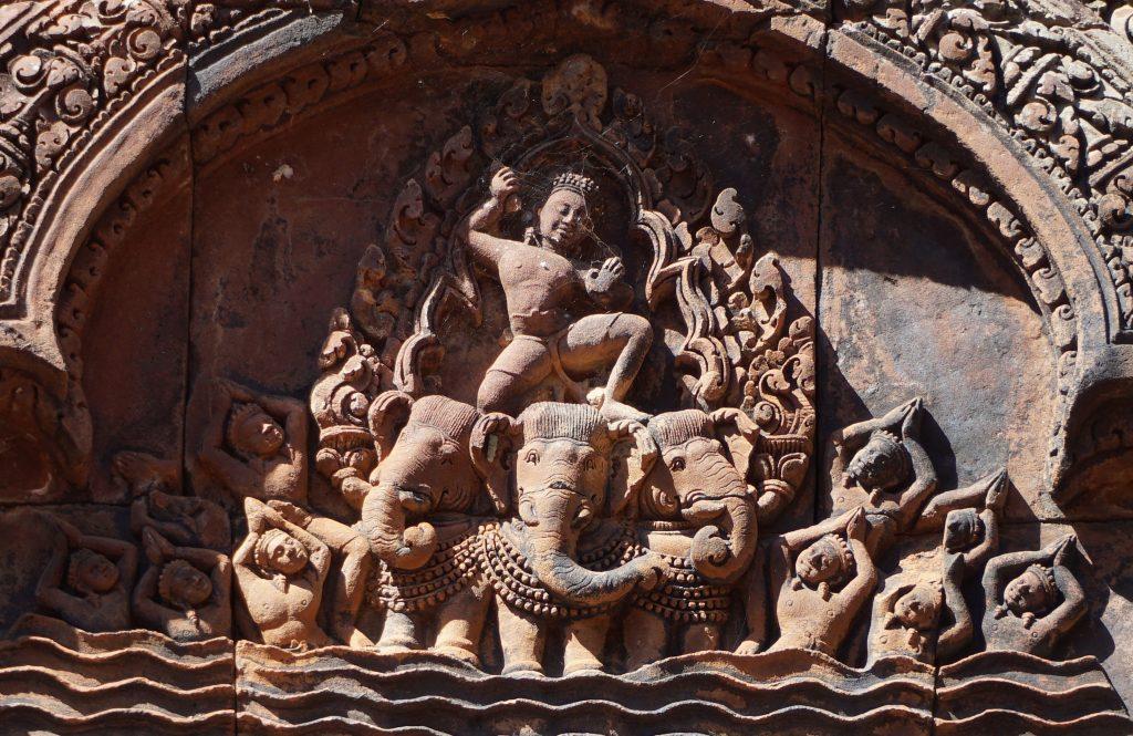 Decoración templo Banteai Srei