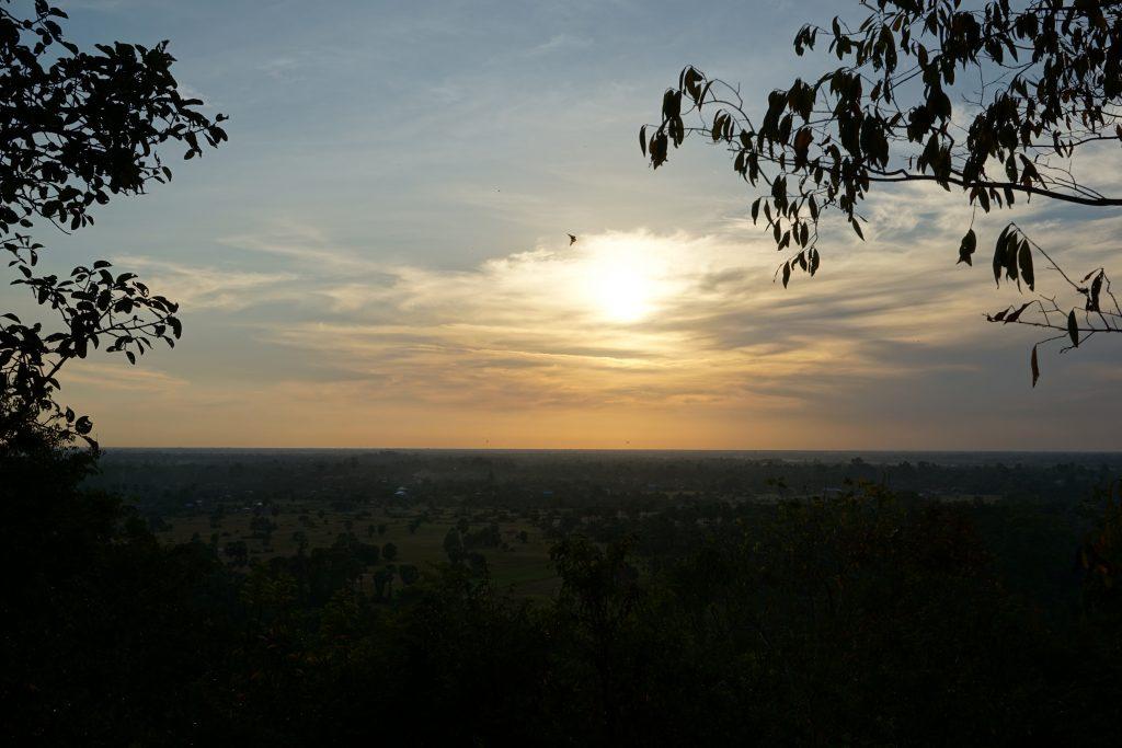 Atardecer desde Phnom Bakheng