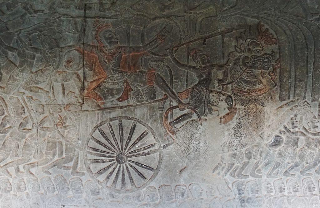 Bajorrelieves Angkor Wat, templos de Angkor