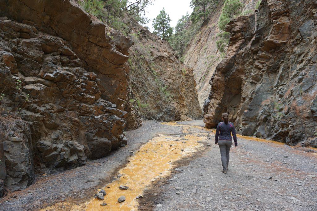 Barranco del Limonero, Parque Nacional de la Caldera de Taburiente, Isla de La Palma