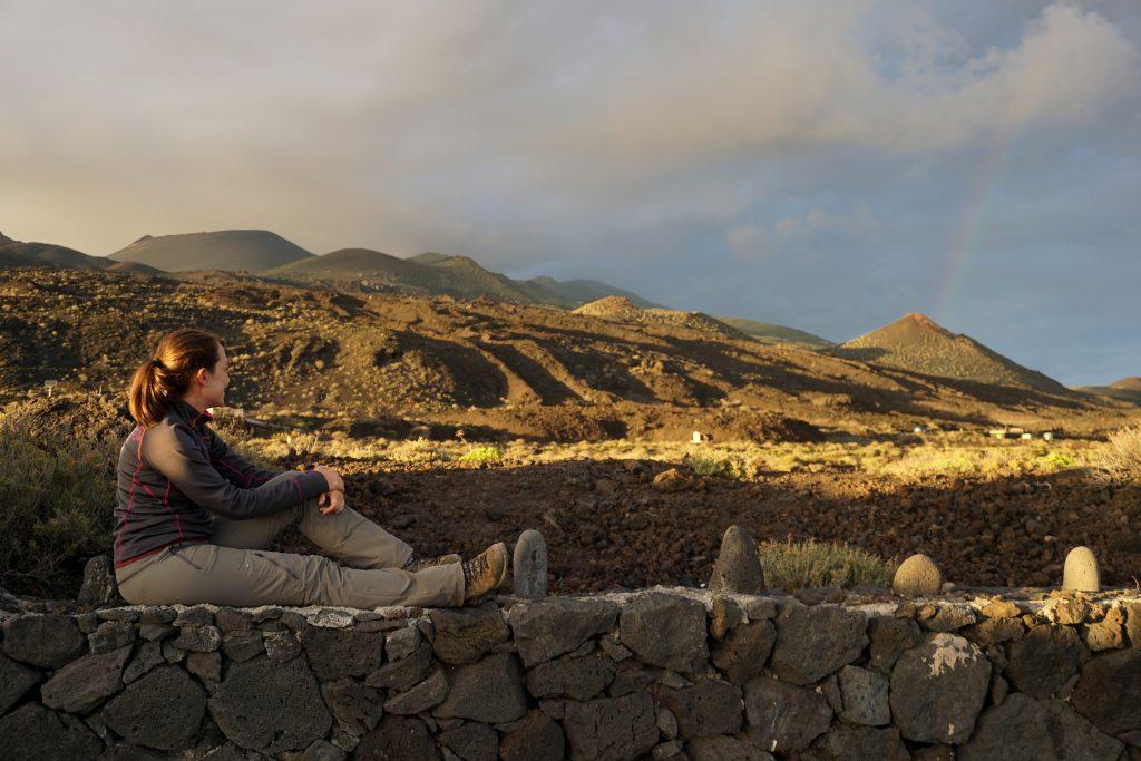 Vistas del Monumento natural de los Volcanes de Teneguía, Isla de La Palma