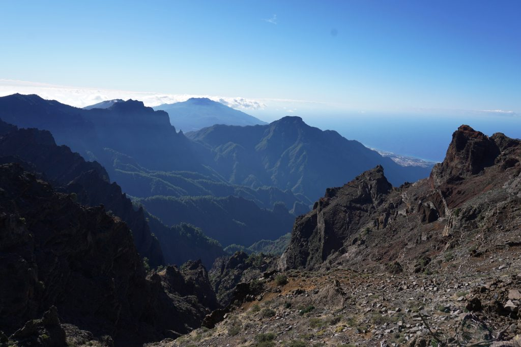 Mirador de los Andenes, Isla de La Palma