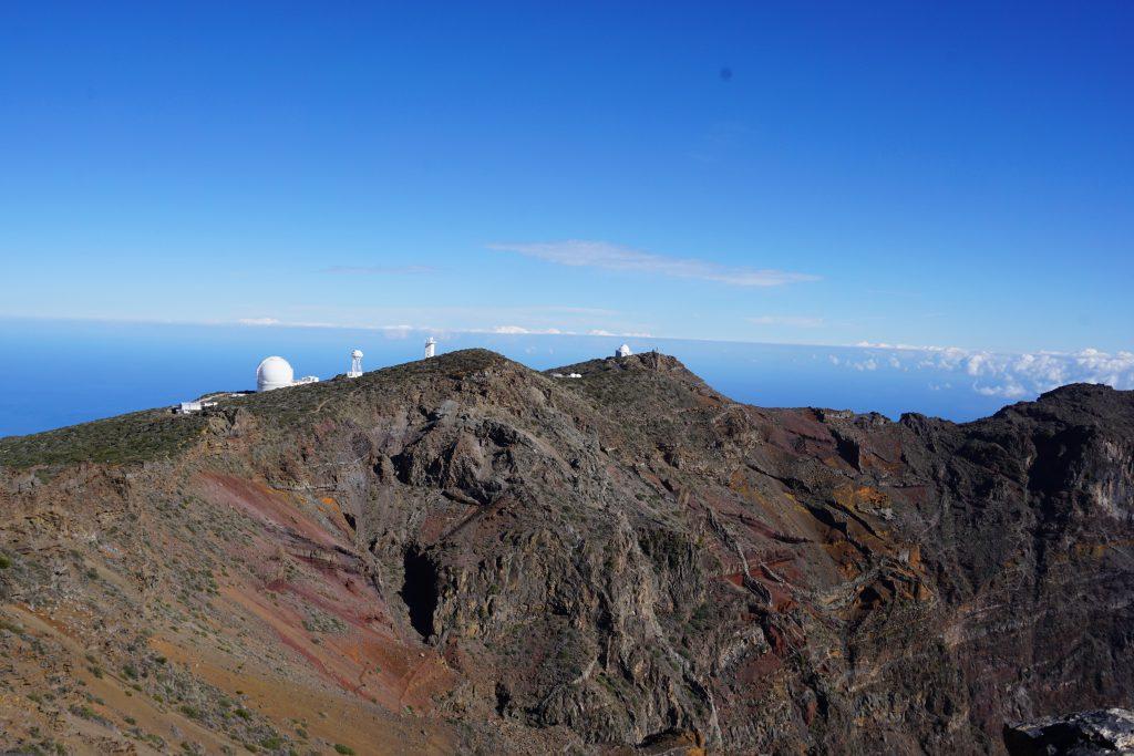Observatorio astronómico Roque de Los Muchachos, Isla de La Palma