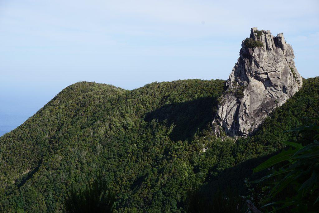 Vistas de un roque en el sendero del Pijaral (Bosque Encantado), Tenerife