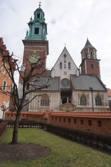 Colina Wavel: Catedral de Cracovia
