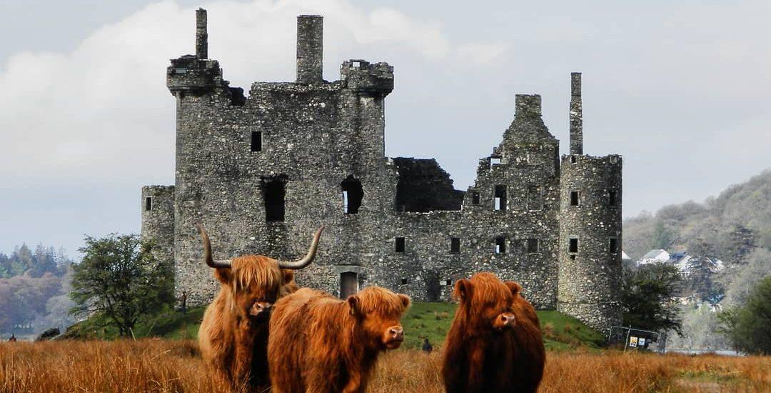 Escocia Kilchurn Castle