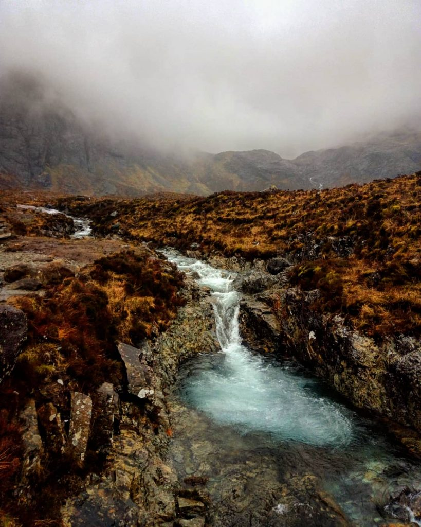 Escocia Fairy Pools