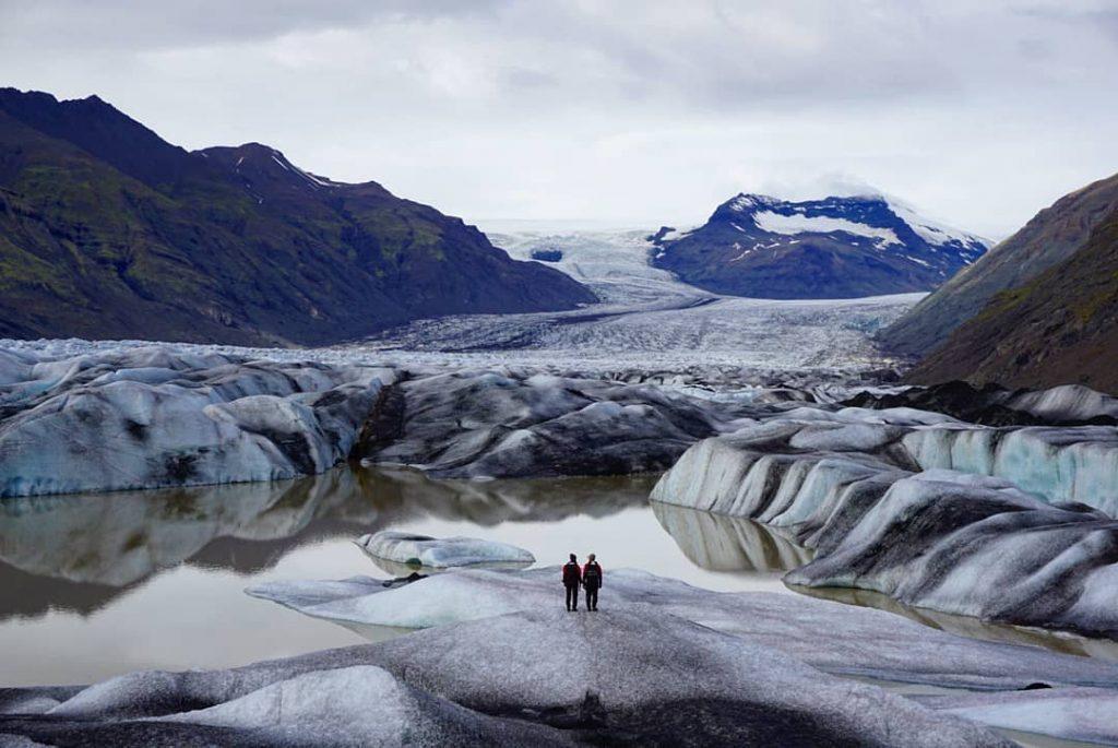 Lago glaciar Heinabergslón