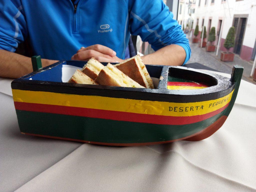 Bolo do caco en Madeira