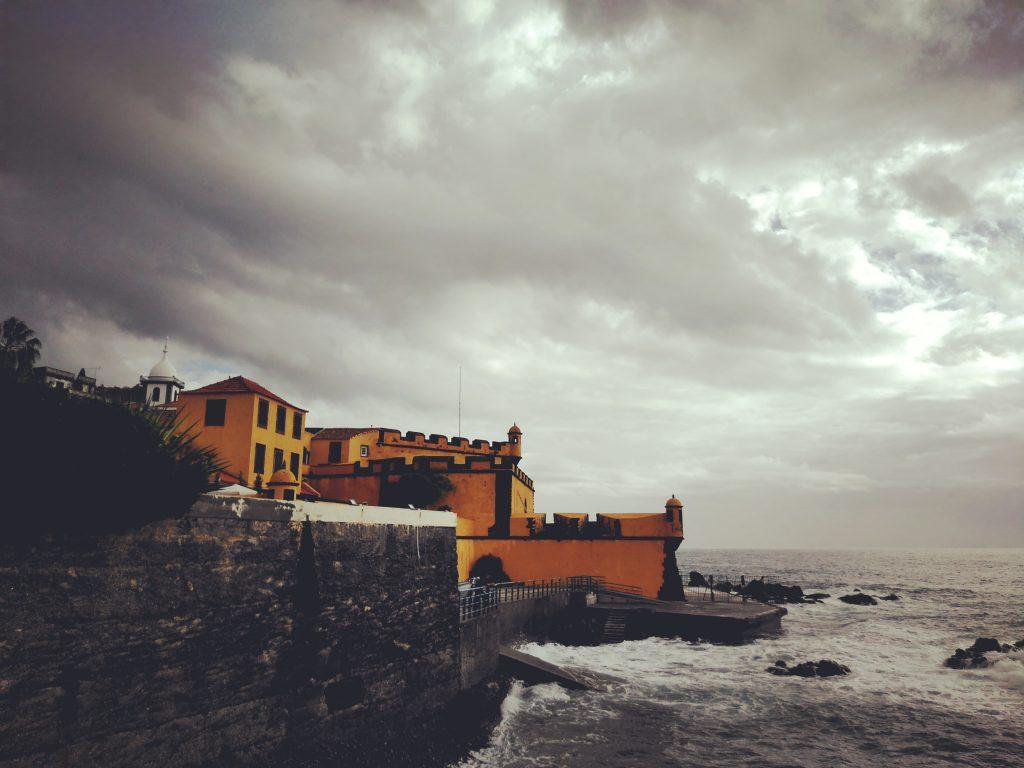 Forte de São Tiago en Funchal, Madeira