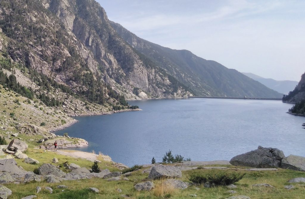 Pirineos, Embalse del Cavallers