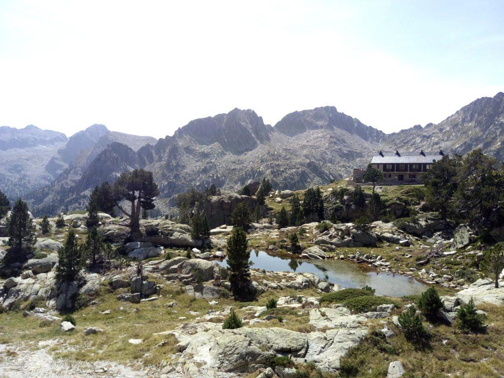 Pirineos, Refugio de Amitges