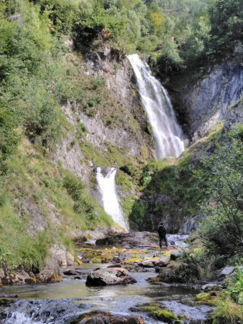 Cascada Sauth deth Pish, Valle de Arán
