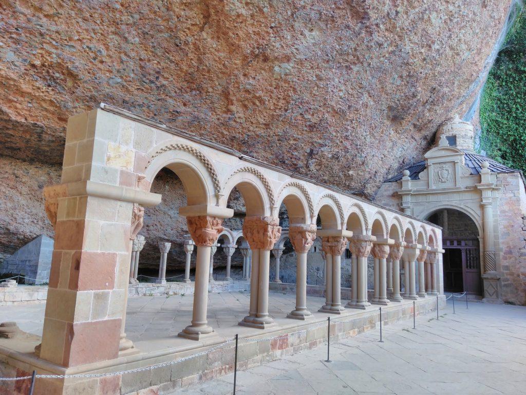 Claustro del Real Monasterio San Juan de la Peña