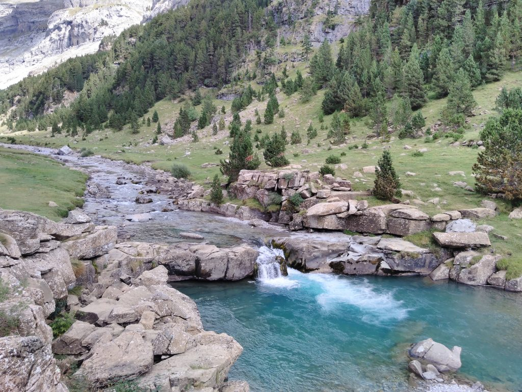 Pirineos, Gradas de Soaso, Cañón de Ordesa
