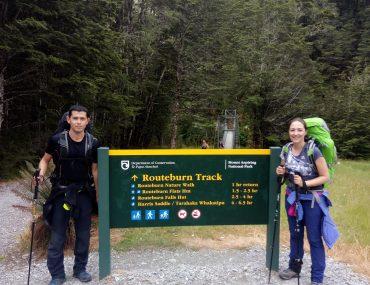 Inicio Routeburn Track