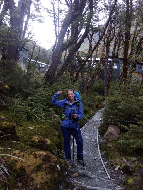 Routebun Falls Hut, Routeburn Track