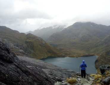 Lago Harris desde Conical Hill, Routeburn Track