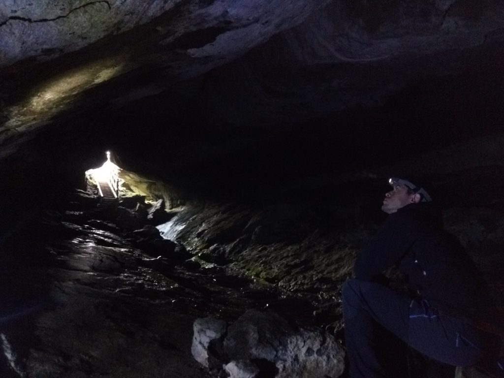 Cueva Luxmore, Kepler Track